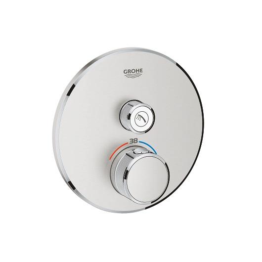 Термостат Grohe Grohtherm SmartControl 29118DC0 (supersteel)