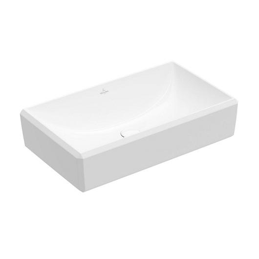 Раковина накладная Villeroy & Boch Antheus 4A1065RW (4A10 65 RW) Stone White, CeramicPlus (650х388 мм)