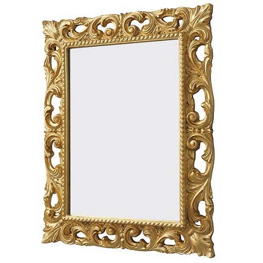 Зеркало ArtCeram Mirrors Barocca ACS001 73 (730х930 мм) состаренное золото