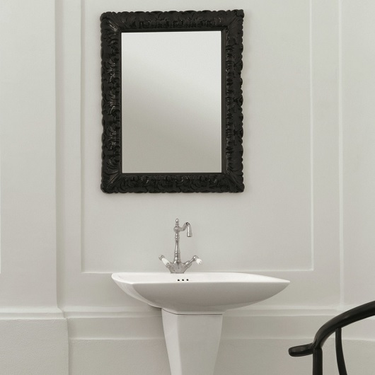 Зеркало ArtCeram Mirrors Italiana ACS002 03 (730х930 мм) черное
