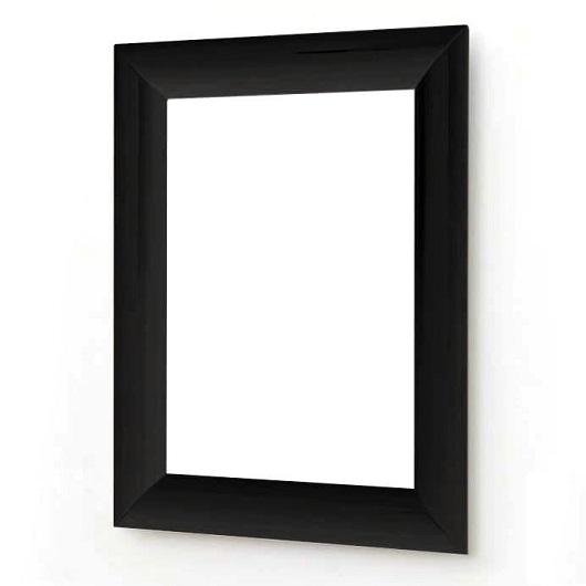 Зеркало ArtCeram Mirrors Vela ACS003 03 (700х900 мм) черное