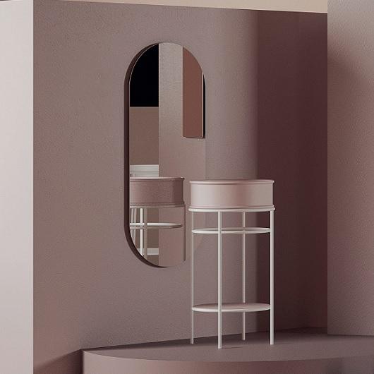 Зеркало с подсветкой ArtCeram Mirrors Arco 120 ACS014 (500х1200 мм)