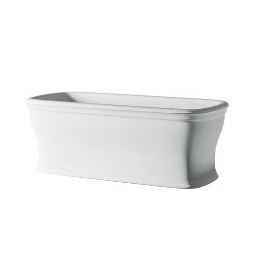 Ванна отдельностоящая ArtCeram Neo ACW003 05 (1800х850 мм) белая матовая