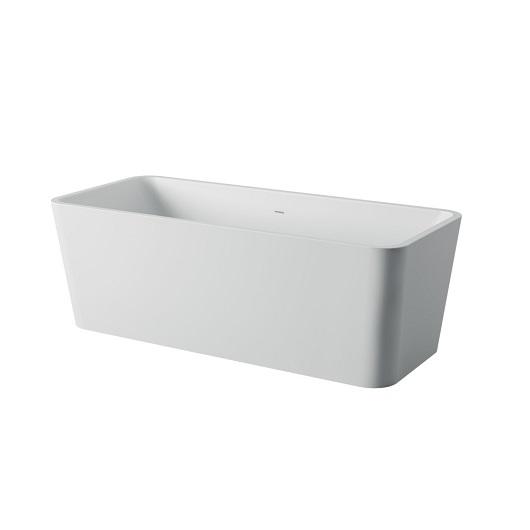 Ванна отдельностоящая ArtCeram Square ACW004 05 (1800х800 мм) белая матовая