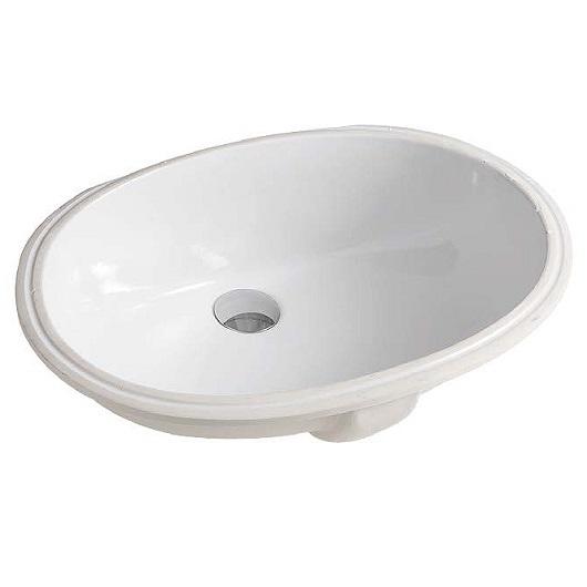 Раковина встраиваемая снизу ArtCeram Washbasins Diana DIL001 01 00 (570х404 мм)