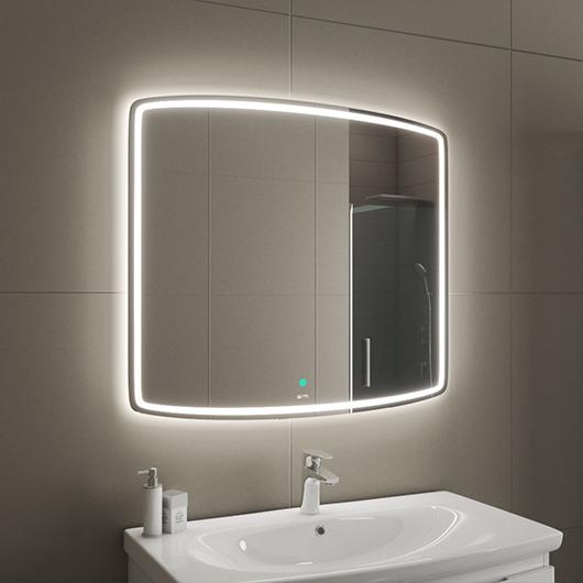 Зеркало с LED подсветкой OWL 1975 Gotland OWLM200400 (900х800 мм)