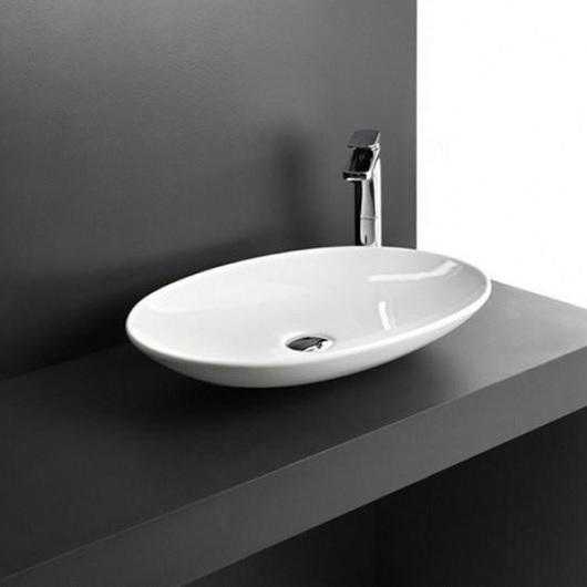 Раковина накладная ArtCeram La Fontana 2.0 LFL001 01 00 (600х420 мм)