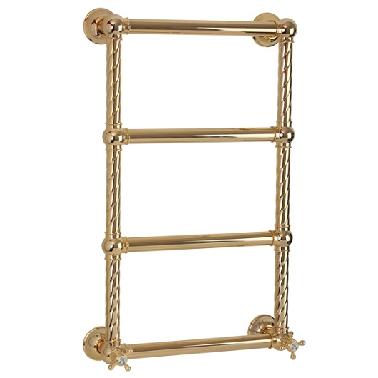 Полотенцесушитель водяной Migliore Edera ML.EDR-HY.200.DO (790х490 мм) золото
