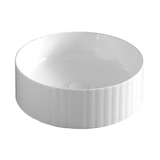 Раковина накладная ArtCeram Millerighe OSL010 01 00 (Ø 440 мм) белая