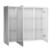 Зеркальный шкаф OWL 1975 Malaren OW03.13.05 (1000х810 мм)