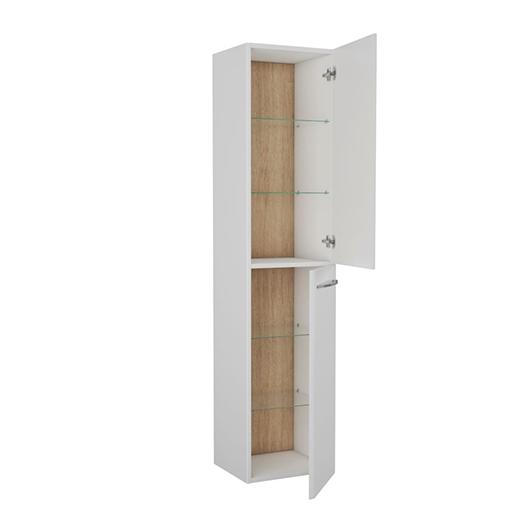 Шкаф высокий OWL 1975 Skansen 40 OW050400 (белый глянцевый, 1720х400 мм)
