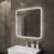 Зеркало с LED подсветкой OWL 1975 Skansen OWLM200500 (800х800 мм)