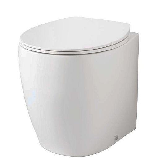 Чаша приставного унитаза ArtCeram Step STV002 01 00
