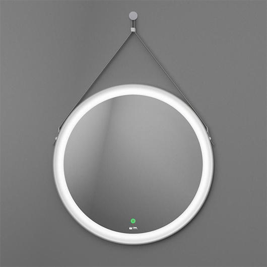 Зеркало с LED подсветкой OWL 1975 Viken OWLM200202 (белый, Ø650 мм)