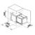 Система сортировки мусора Blanco Botton Pro 45/2 Automatic 517468