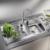 Смеситель для кухни Blanco MIDA 524201