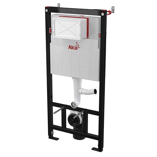 Инсталляция для подвесного унитаза AlcaPlast Sadromodul AM101/1120V (с возможностью вентиляции)