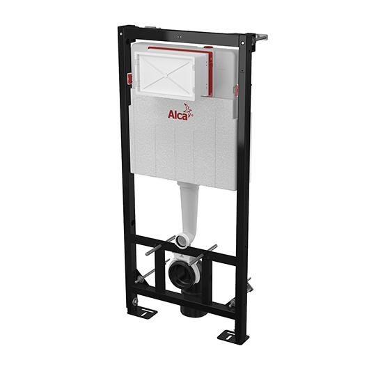 Инсталляция для подвесного унитаза AlcaPlast Sadromodul AM101/1120W (для гипсокартона)
