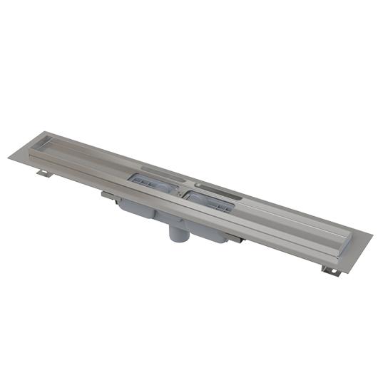 Водоотводящий желоб AlcaPlast APZ1101-1150 Low (1150 мм, вертикальный выпуск)