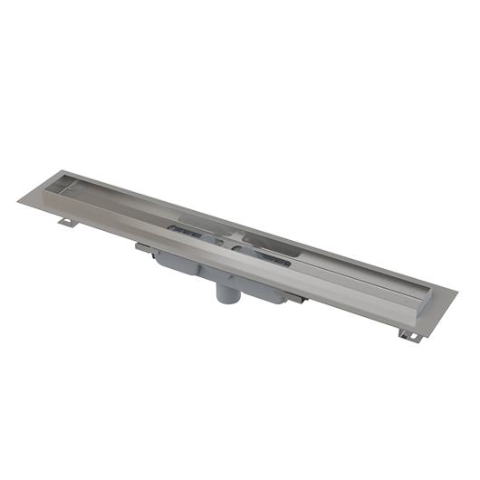 Водоотводящий желоб AlcaPlast APZ1106-1150 PROFESSIONAL LOW (1150 мм, вертикальный выпуск)