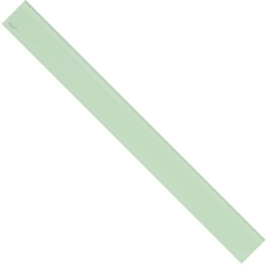 Декоративная решетка AlcaPlast GL1202-1150 (1150 мм) зеленое стекло
