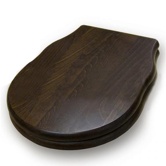 Сиденье с крышкой для унитаза ArtCeram Hermitage HEA004 71 SoftClose (орех/хром)