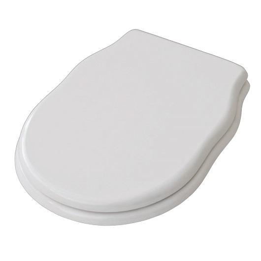Сиденье с крышкой для унитаза ArtCeram Hermitage HEA005 01 73 SoftClose (белое/золото)