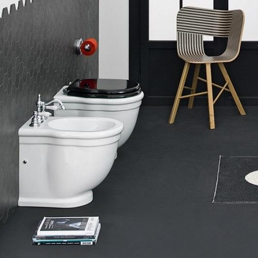 Сиденье с крышкой для унитаза ArtCeram Hermitage HEA005 03 72 SoftClose (черное/бронза)