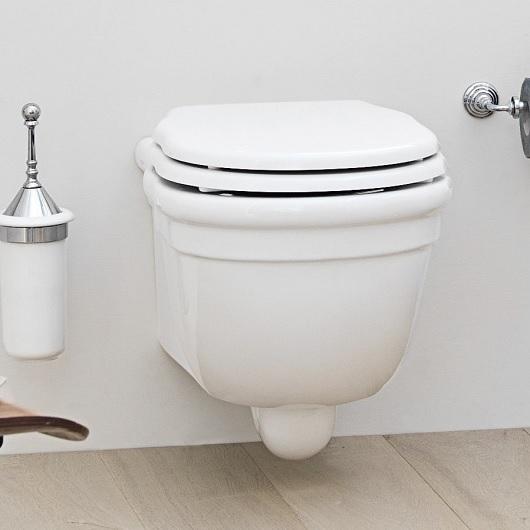 Сиденье с крышкой для унитаза ArtCeram Hermitage HEA005 01 71 SoftClose (белое/хром)