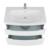 Тумба под раковину OWL1975 Gotland 90 OW010200 (белый глянцевый, 875х595 мм)