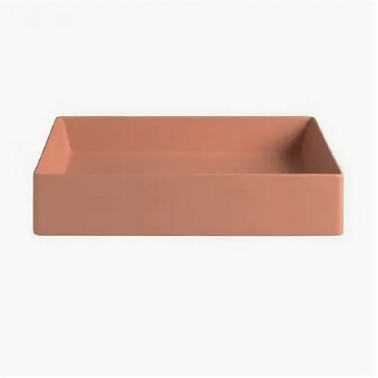 Раковина накладная ArtCeram Scalino 55 SCL002 13 00 (550х380 мм) Orange Cameo Matt