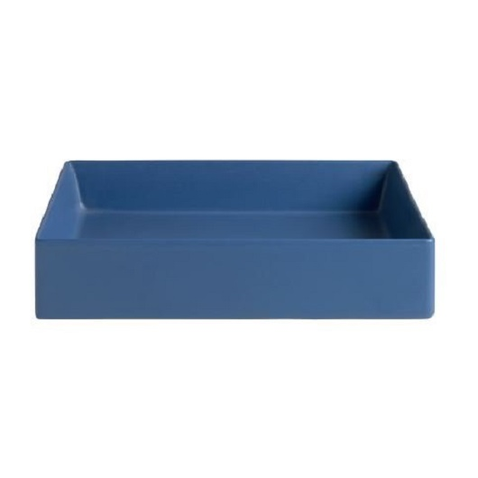 Раковина накладная ArtCeram Scalino 55 SCL002 16 00 (550х380 мм) Blue Sapphire Matt