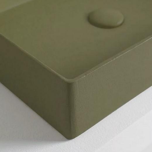 Раковина накладная ArtCeram Scalino 55 SCL002 24 00 (550х380 мм) Mate Matt (фактура-цемент)