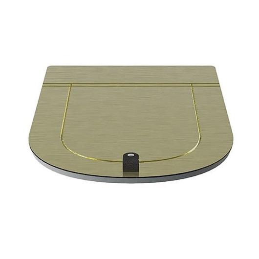 Сиденье с крышкой для унитаза ArtCeram The One THA001 73 SoftClose (золото)