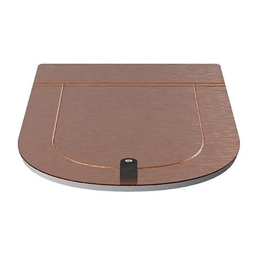 Сиденье с крышкой для унитаза ArtCeram The One THA001 77 SoftClose (розовое золото)