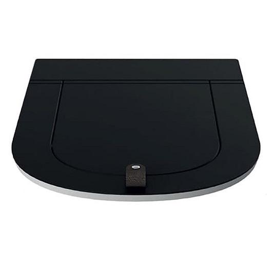 Сиденье с крышкой для унитаза ArtCeram The One THA001 81 SoftClose (черное матовое)