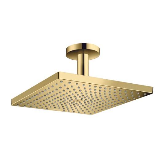 Верхний душ Hansgrohe Raindance E 300 1jet 26250990 (300х300 мм, полированное золото)