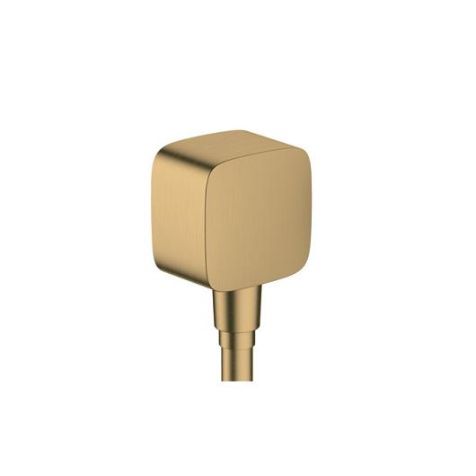 Шланговое подсоединение Hansgrohe Fixfit 26457140 (шлифованная бронза)