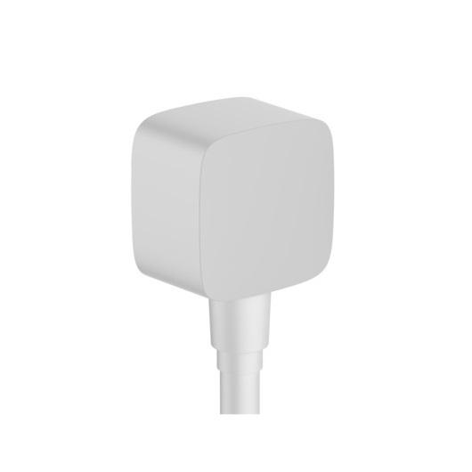 Шланговое подсоединение Hansgrohe Fixfit 26457700 (матовый белый)