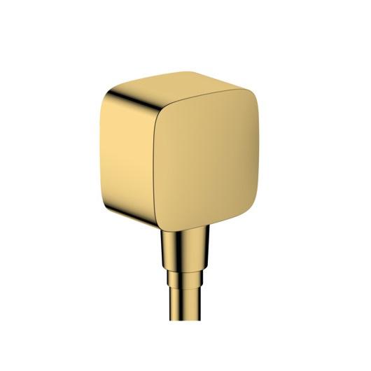 Шланговое подсоединение Hansgrohe Fixfit 26457990 (полированное золото)