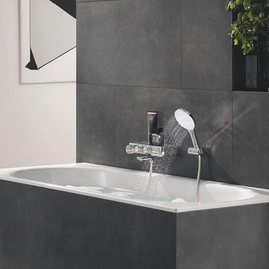 Ручной душ Grohe Rainshower 130 SmartActive 26574LS0 (9,5 л/мин)