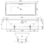 Ванна Bette Loft 3171-000 (1700х800 мм) шумоизоляция