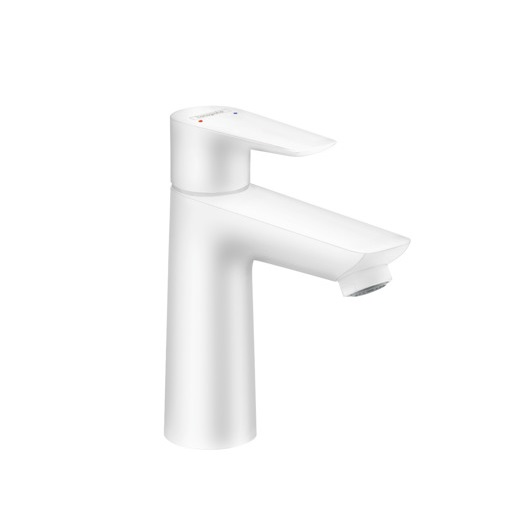 Смеситель для раковины Hansgrohe Talis E 71712700 (белый матовый)