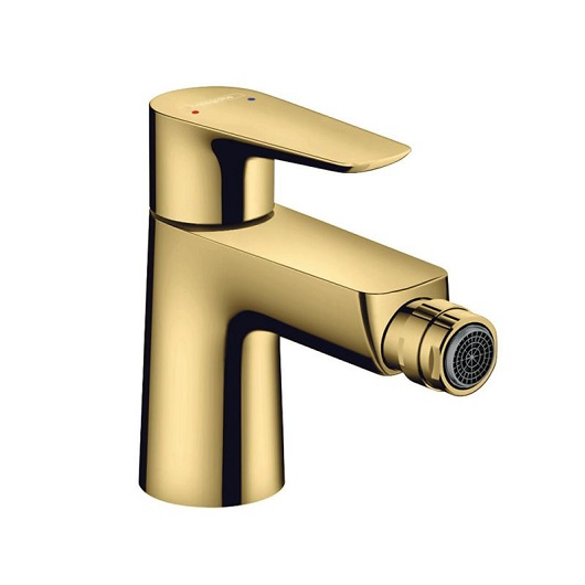 Смеситель для биде Hansgrohe Talis E 71720990 (полированное золото)