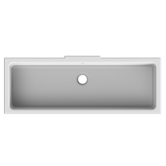 Раковина встраиваемая снизу Scarabeo Miky 80 8092 (870х320 мм)