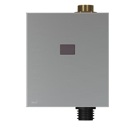 Привод смыва для писсуара AlcaPlast ASP3-KB (металл/6 В подключение к аккумулятору)