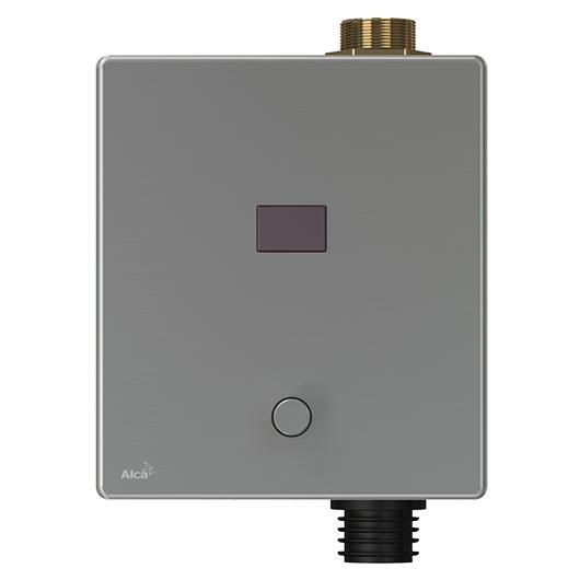 Привод смыва для писсуара AlcaPlast ASP3-KBT (металл, 6 В подключение к аккумулятору, с возможностью мануального смыва)
