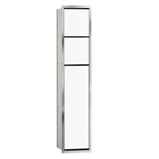 Встраиваемый модуль для туалета Emco Asis 9750 278 50 (975027850) (170х811х156 мм) белый
