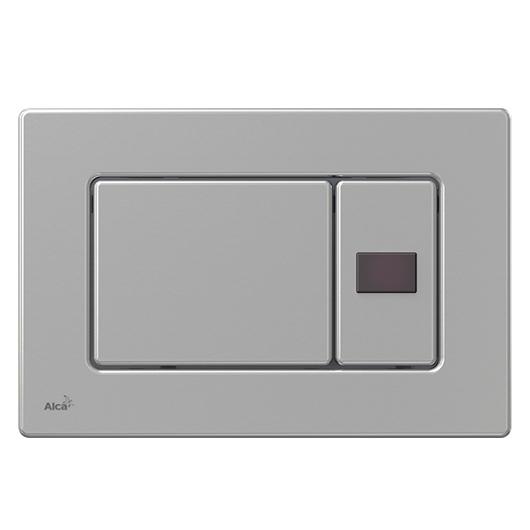 Сенсорная кнопка управления AlcaPlast M279SB Antivandal (металл, подключение к аккумулятору)