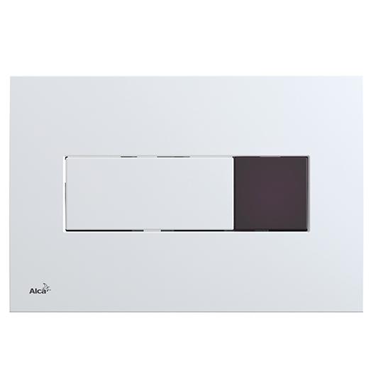 Сенсорная кнопка управления AlcaPlast M370SB (белый, подключение к аккумулятору)